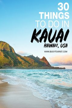 30 Best & Fun Things To Do In Kauai (Hawaii) : Wondering what to do in Kauai? This travel guide will show you the top attractions, best activities, places to visit & fun things to do in Kauai, Hawaii. Start planning your itinerary & bucket list now! Us Travel Destinations, Best Places To Travel, Cool Places To Visit, Best Vacation Places, Holiday Destinations, Maldives Destinations, Kauai Hawaii, Oahu, Hawaii Life