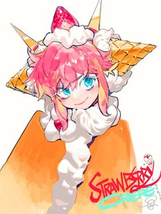 Fantasy Character Design, Character Design Inspiration, Character Art, Running Inspiration, Pretty Art, Cute Art, Strawberry Crepes, Cookie Run, Another Anime