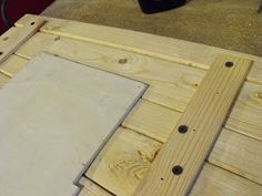 Wood Plank Picture Frame