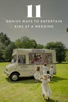 From the open bar to the golden oldies, weddings are the ultimate feel-good party for grown-ups. But what's in it for the little ones? Keep your smallest guests not only occupied but delighted with these 11 fun ideas.