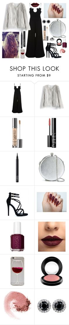 """Circle bag"" by staceybuijs ❤ liked on Polyvore featuring Paper London, Chicwish, Urban Decay, NARS Cosmetics, Alexander McQueen, Essie, LASplash and MAC Cosmetics"