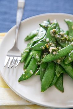 Recipe: Snap Peas with Meyer Lemon and Mint — Side Dish Recipes from The Kitchn