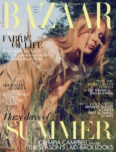 Harper's Bazaar is the UK's most sophisticated women's fashion magazine.  We are famous for beautiful visuals, intelligent writing, award-winning art directio
