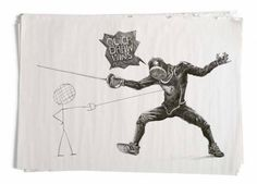 fencing pictionary