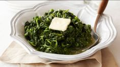 Get Garlic Sauteed Spinach Recipe from Food Network