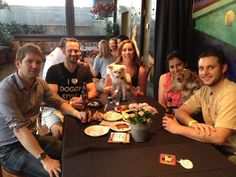 #BlogPaws had way too much fun @Squatterspubs!