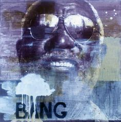 "François Bard, Bang, 2012, Mixed Medium on Paper, 23"" x 22¾"" #Art #Painting #BDG #BDGNY #Contemporary"