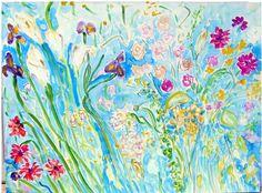 """Summer Dance,"" Acrylic 36 x 48 by Andrea de Kerpely-Zak"
