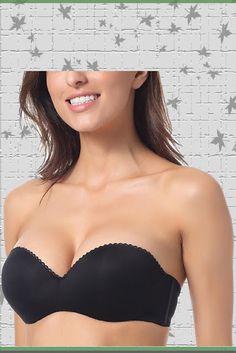 5f7182bc50 Dobreva Women s Convertible Multiway Underwire Padded Strapless Push Up Bra  Black multiway bra  MultiwayBra