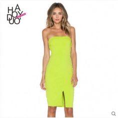 de1801e49c5 Shop for Lavish Alice Strapless Midi Dress in Lime at REVOLVE.