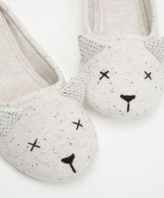 Mouse slippers - OYSHO