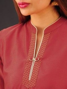 Style Heave: Neck Design For Women Charmed Dress Up Chudi Neck Designs, Neck Designs For Suits, Neckline Designs, Designs For Dresses, Dress Neck Designs, Collar Designs, Sleeve Designs, Neck Patterns For Kurtis, Kurta Patterns