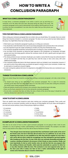 Conclusion Paragraph Transition Words And Phrases, Better Writing, Cool Writing, Argumentative Writing, Essay Writing, English Writing, English Grammar, English Tips