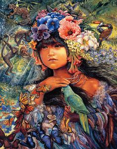 Princess of the Amazon - Josephine Wall
