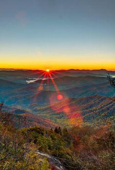 Smoky Mountains North Carolina USA