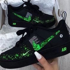 Nike Shoes Blue, Cute Nike Shoes, Nike Shoes Air Force, Moda Sneakers, Cute Sneakers, Sneakers Nike, Jordan Shoes Girls, Girls Shoes, Shoes Women