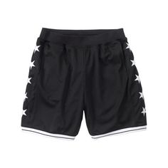 a50c189b56d Supreme  Basketball Short - Black ( 88.00) ❤ liked on Polyvore featuring  shorts