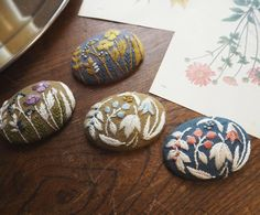 Nice for brooches.