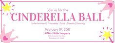 Little Leapers presents the First Annual Cinderella Ball on Sunday, February 19, 2017. Admission is $35 for non-members and $25.00 for members.