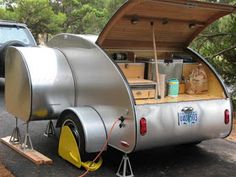 The Teardrop Trailer: So how about a quick tour...?