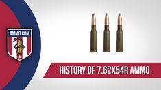 History of 7.62x54r Ammo #ammo #ammohistory #7.62x54r