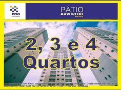 Pátio Arvoredo, Lançamento em Salvador, Brotas, Apartamentos 2, 3 e 4 Qu...