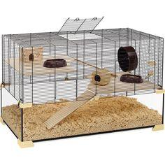 KARAT 100   Glass hamster and mice cage - Ferplast
