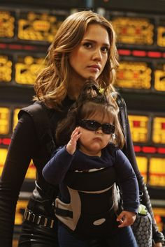 Jessica Alba en Spy Kids 4: All the Time in the World