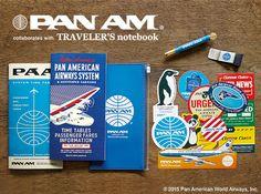 トラベラーズノート パンナム PAN AM | トラベラーズノート - contact kimberly at TokyoPenShop.com to reserve for this upcoming Limited Edition release!