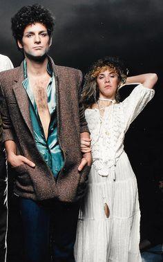 Lindsey Buckingham and Stevie Nicks, 1979.