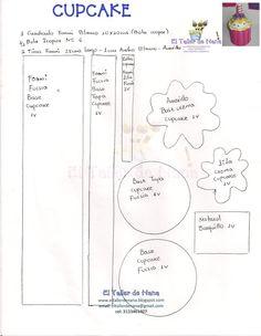 El Taller de Nana: Video Elaboración Cupcake en Foami