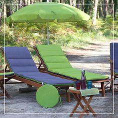 Un coussin pour chaise longue Futon réinvente votre déco d'extérieur avec son style très coloré, parfait pour profiter du soleil.