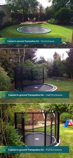 51 new ideas for backyard ideas kids in ground trampoline In Ground Trampoline Kit, Garden Trampoline, Trampoline Safety, Trampoline Ideas, Trampoline Reviews, Backyard For Kids, Backyard Patio, Backyard Landscaping, Backyard Ideas