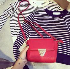 X-Online 042017 hot sale lady small flap bag female fashion shoulder bag