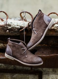 Make your dad feel like Steve McQueen with some chukkas.