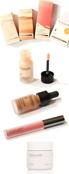 Endlich haben wir Make-Up von DR.PERRICONE <3 #makeup #bronzer #highlighter #lipgloss #drperricone