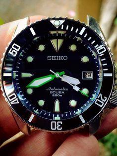 Here is my Skx009: Yobokies Plongeurs Ceramic bezel insert Sapphire crystal Sbdc007 dial