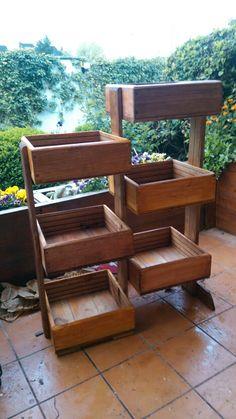 """Jardinera realizada por """"maderas vivas"""" 638116728"""