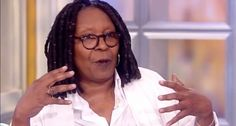 Whoopi: People not paid to protest, they're pissed.