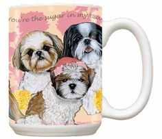 Shih Tzu Coffee Mug $18.95