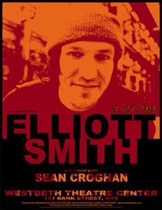 elliott smith gig poster
