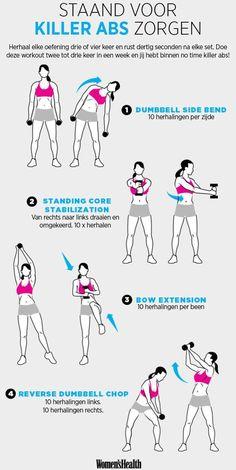 standing-flat-abs-workout_MM #Absworkout #fitnessworkouts #BellyFatTraining