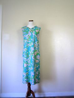 #Vintage Dress / 60's Maxi dress / Small by KikuVintageBoutique #Spring #fashion