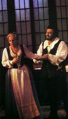 Luisa Miller, SF Opera 1974: Katia Ricciarelli & Luciano Pavarotti