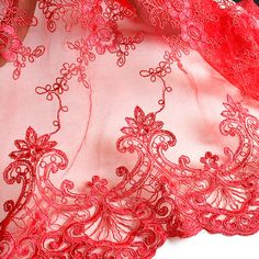 Dress lace fabric alloveredembroidered lace fabric by AnnabelleDIY
