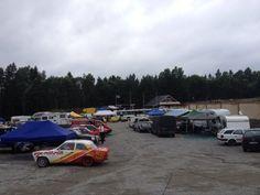 Allt begynner og bli klart på Brekka Motorbane for Sommerfestivalen Park, Vehicles, Parks, Vehicle