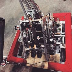 Finally team 6227 unveils its awesome robot! What about yours? #robotics #frc by ok_robot
