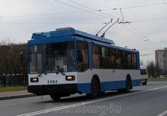 Trolleybus, perfectly saved since soviet era