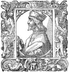 Giovio, Paolo, 1483-1552 Portrait of Cesare Borgia, son of Pope Alexander VI and Duke of Valentinois, Italian condottiero. Courtesy of the Digital Image Archive, Pitts Theology Library, Candler School of Theology, Emory University.
