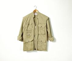 JAMBOREE Boutique Safari Jacket or Vest / Removable by Only1Copy
